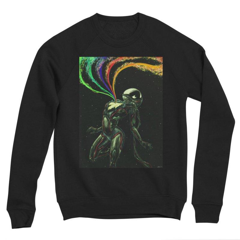 I Love You This Much Men's Sweatshirt by Natalie McKean