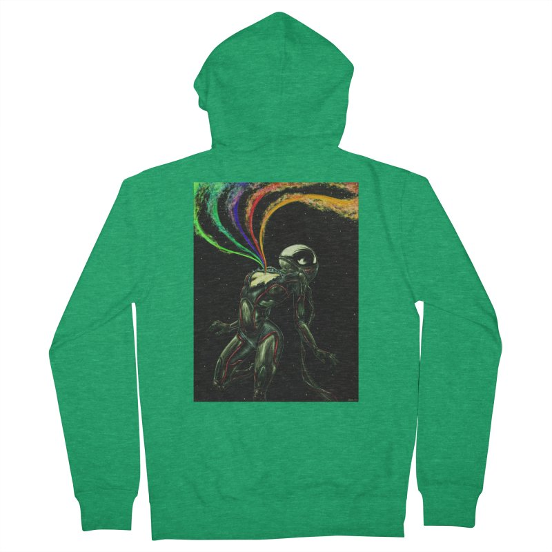 I Love You This Much Men's Zip-Up Hoody by Natalie McKean