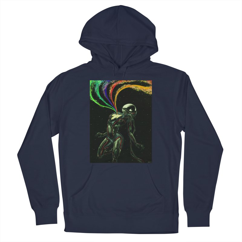 I Love You This Much Men's Pullover Hoody by Natalie McKean