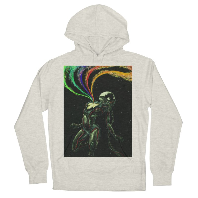 I Love You This Much Men's French Terry Pullover Hoody by Natalie McKean