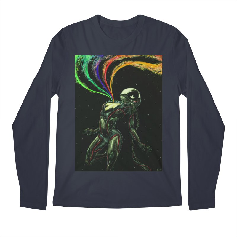 I Love You This Much Men's Regular Longsleeve T-Shirt by Natalie McKean