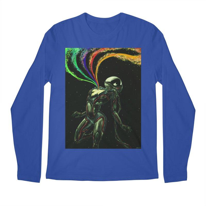 I Love You This Much Men's Regular Longsleeve T-Shirt by Natalie McKean