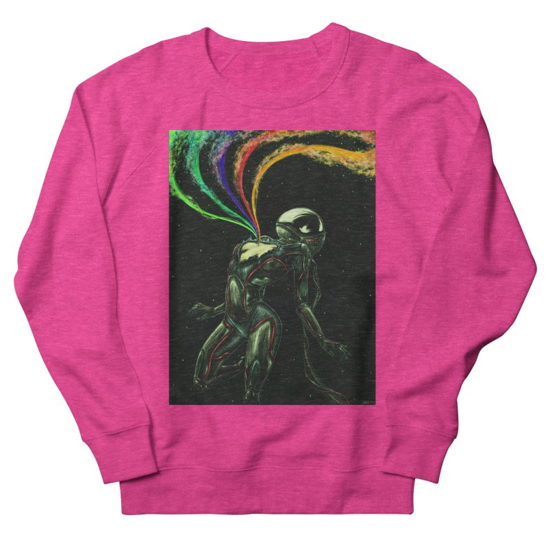 I Love You This Much Men's French Terry Sweatshirt by Natalie McKean