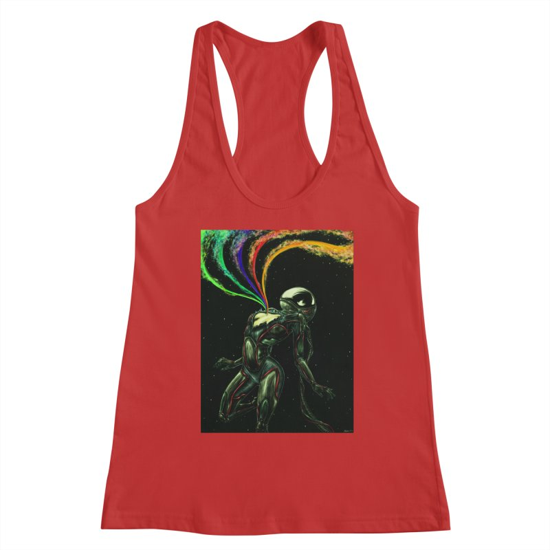 I Love You This Much Women's Racerback Tank by Natalie McKean