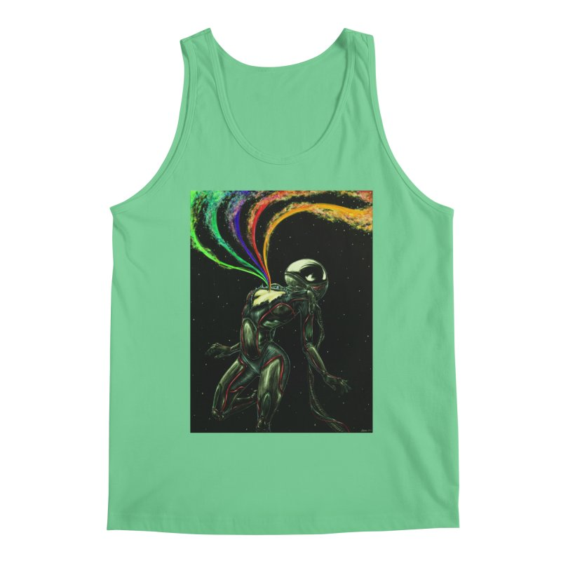 I Love You This Much Men's Tank by Natalie McKean