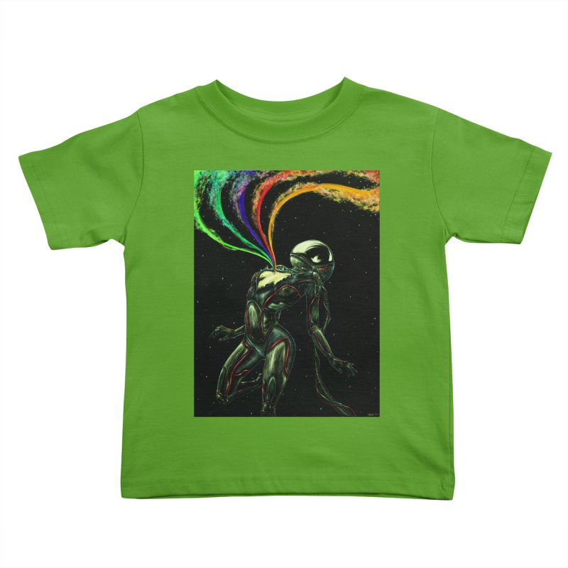 I Love You This Much Kids Toddler T-Shirt by Natalie McKean