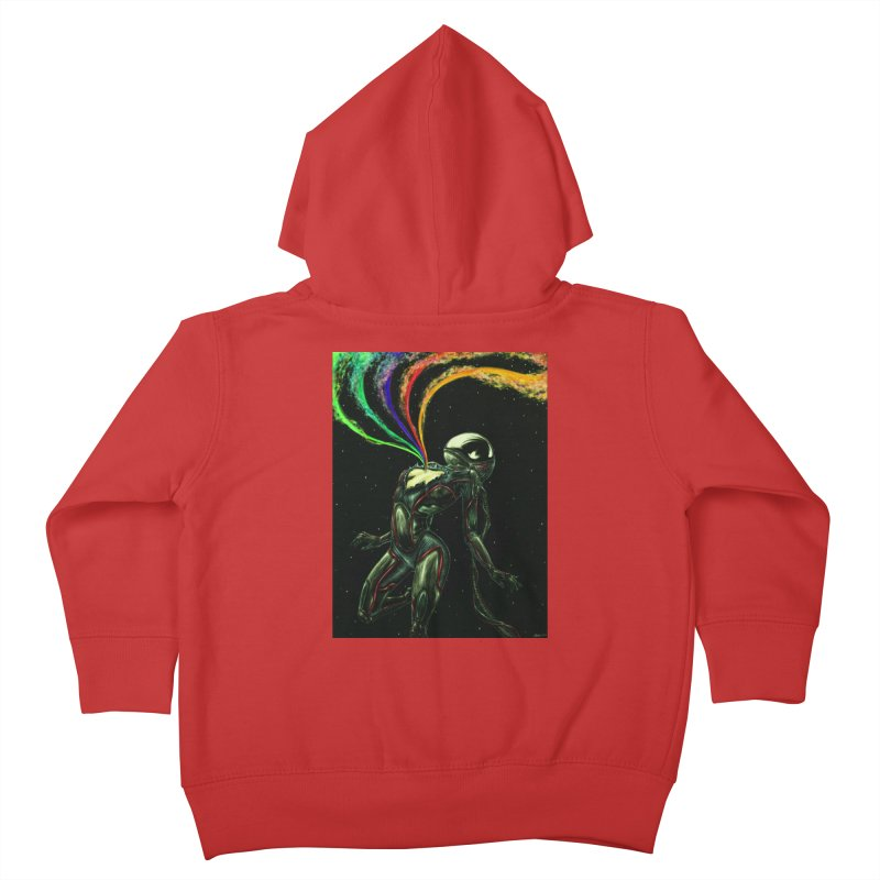 I Love You This Much Kids Toddler Zip-Up Hoody by Natalie McKean