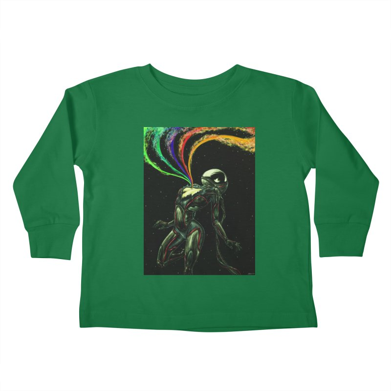 I Love You This Much Kids Toddler Longsleeve T-Shirt by Natalie McKean
