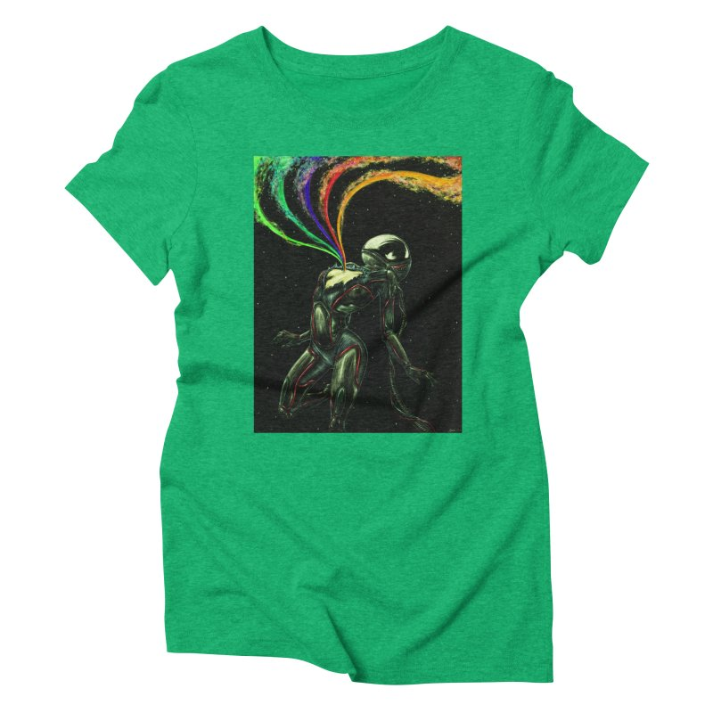 I Love You This Much Women's Triblend T-Shirt by Natalie McKean