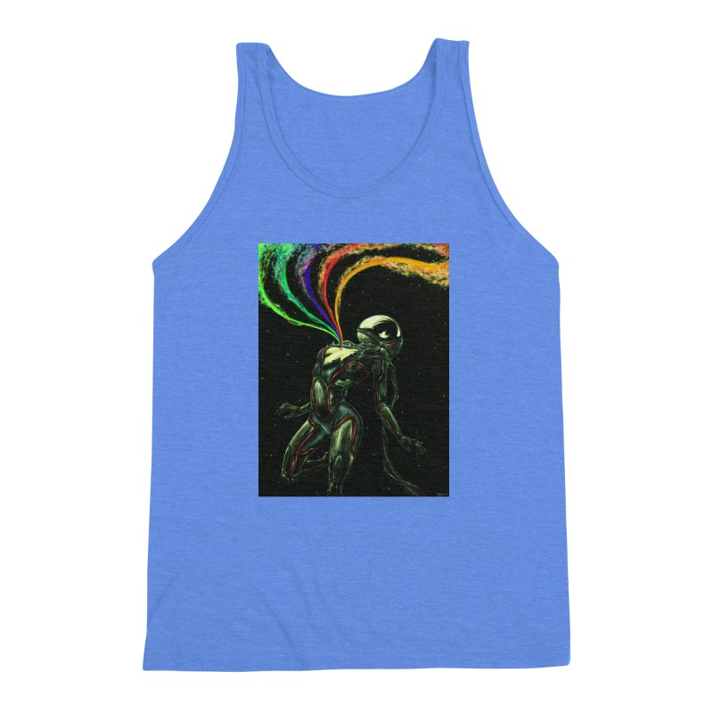 I Love You This Much Men's Triblend Tank by Natalie McKean