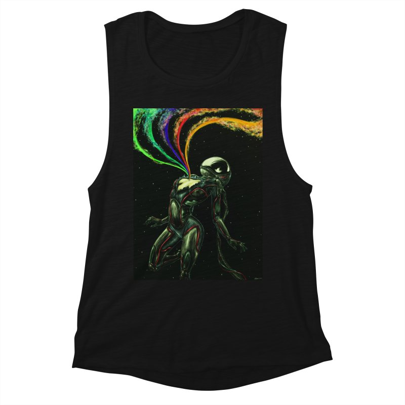 I Love You This Much Women's Muscle Tank by Natalie McKean
