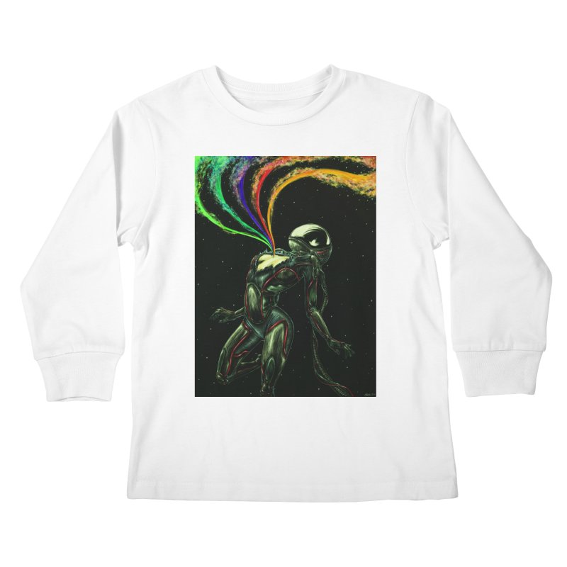 I Love You This Much Kids Longsleeve T-Shirt by Natalie McKean
