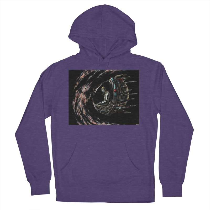 IANA meets Ein Sof Men's French Terry Pullover Hoody by Natalie McKean