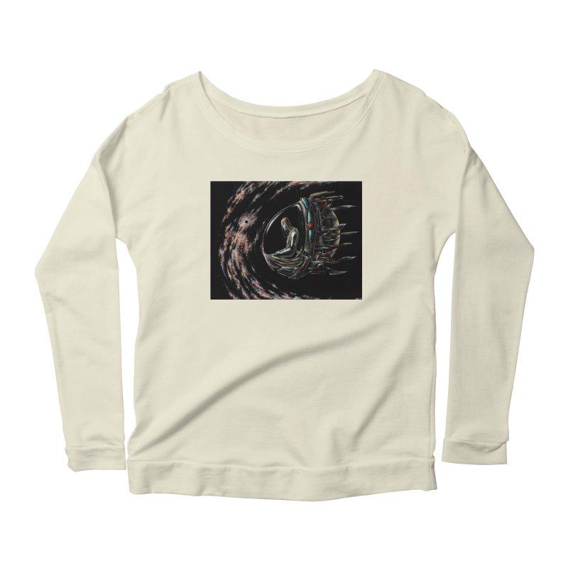 IANA meets Ein Sof Women's Scoop Neck Longsleeve T-Shirt by Natalie McKean