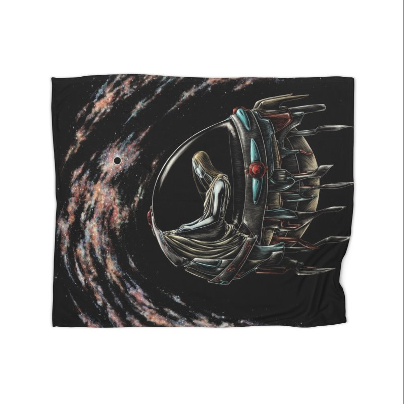 IANA meets Ein Sof Home Fleece Blanket Blanket by Natalie McKean
