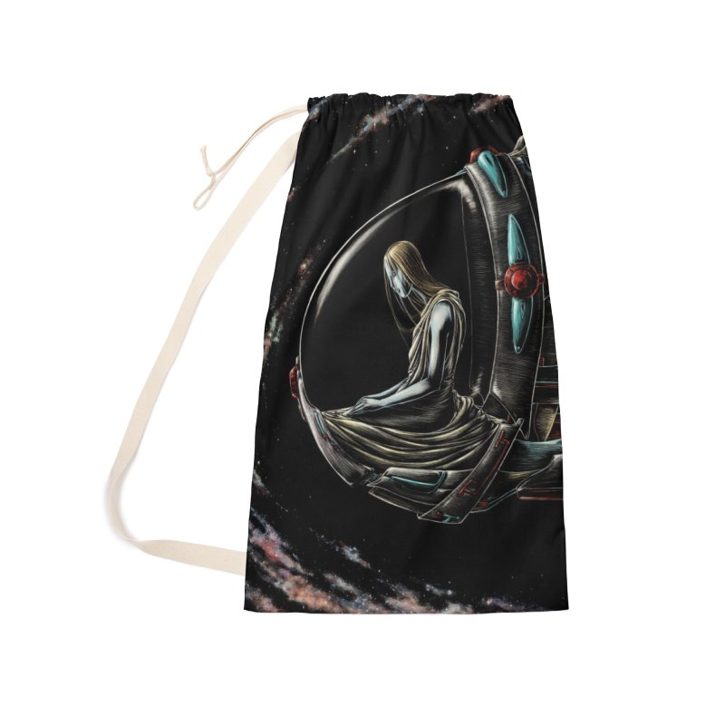 IANA meets Ein Sof Accessories Laundry Bag Bag by Natalie McKean