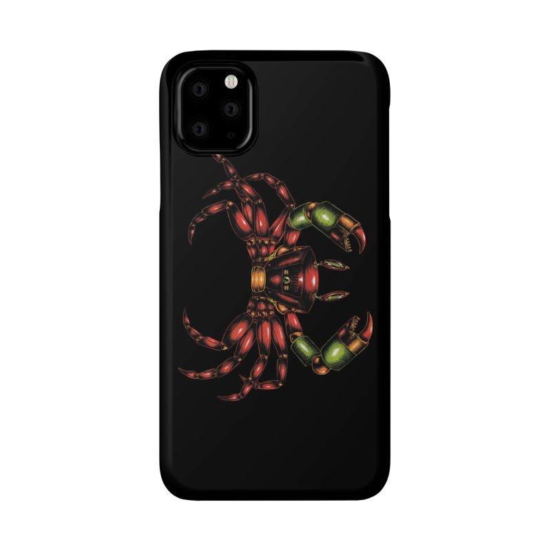 Robot Crab Accessories Phone Case by Natalie McKean