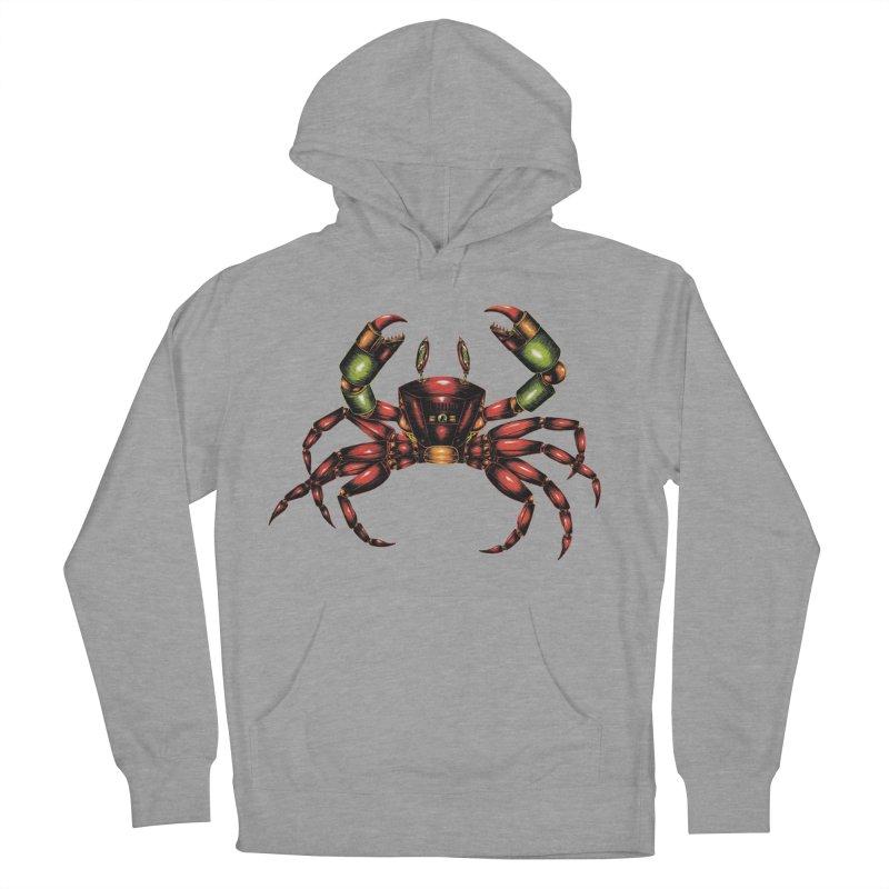 Robot Crab Women's Pullover Hoody by Natalie McKean