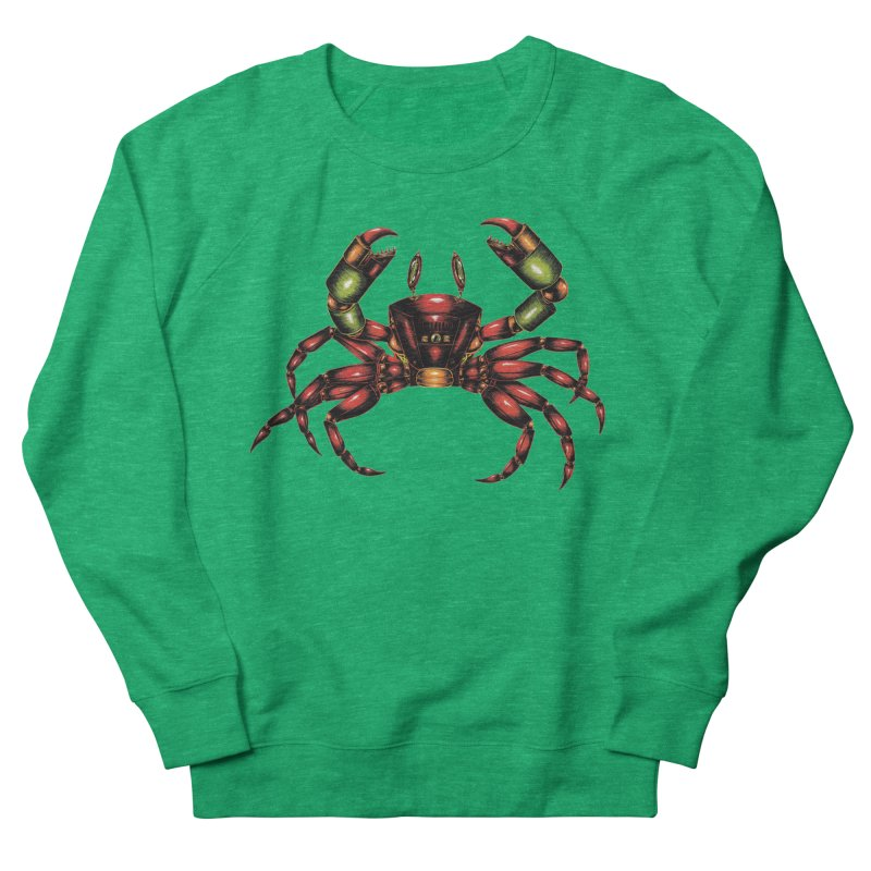 Robot Crab Women's Sweatshirt by Natalie McKean