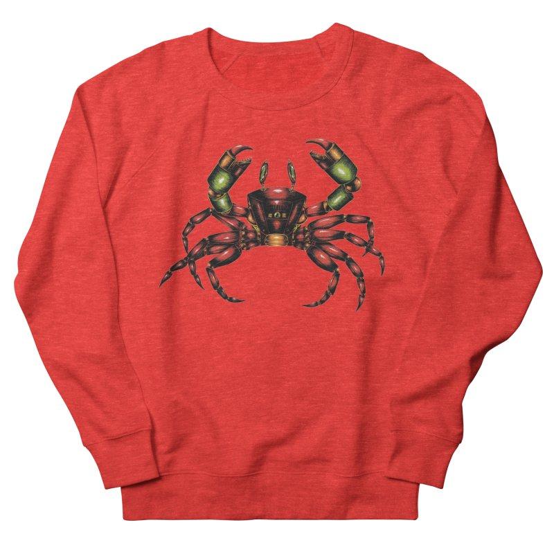 Robot Crab Men's Sweatshirt by Natalie McKean