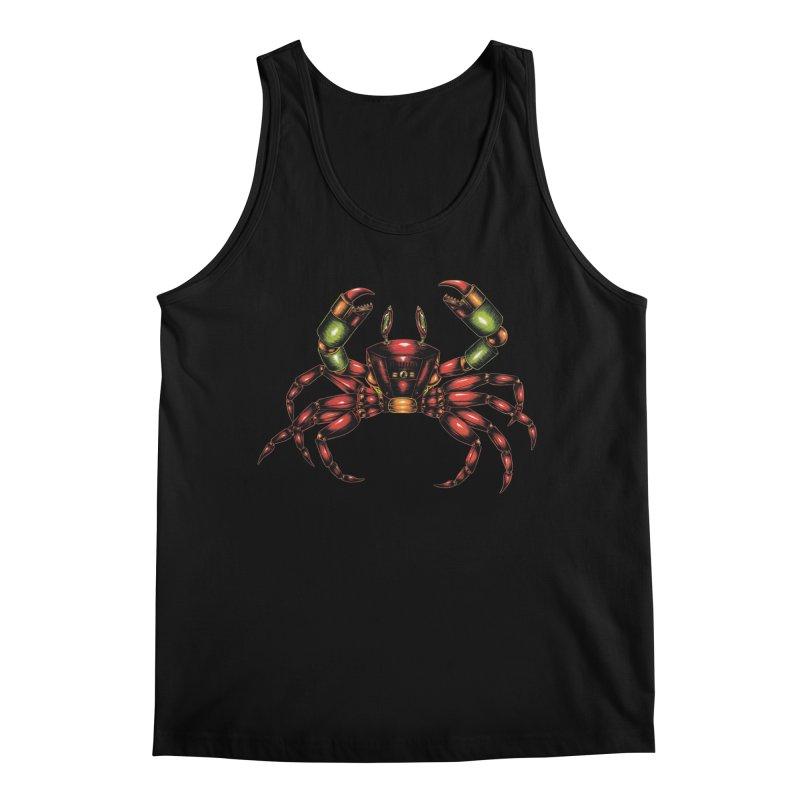 Robot Crab Men's Regular Tank by Natalie McKean