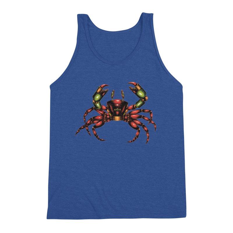 Robot Crab Men's Tank by Natalie McKean