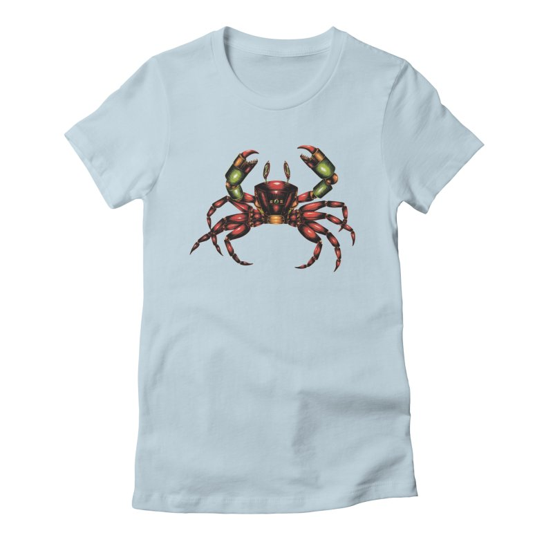 Robot Crab Women's T-Shirt by Natalie McKean