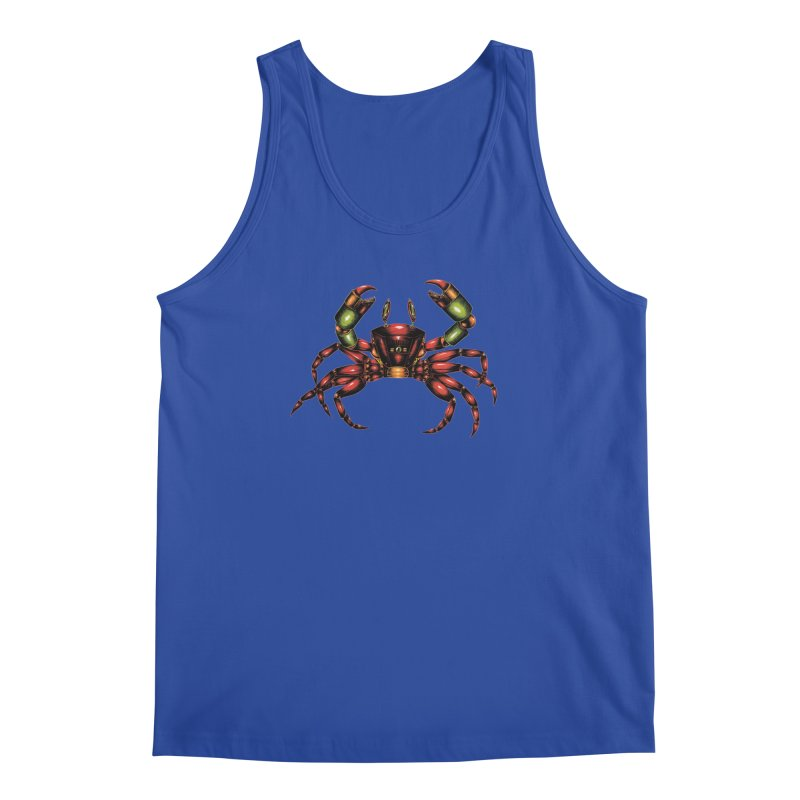 Robot Crab Men's Regular Tank by Natalie McKean