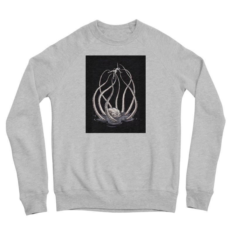 Tentacle Peril Women's Sponge Fleece Sweatshirt by Natalie McKean