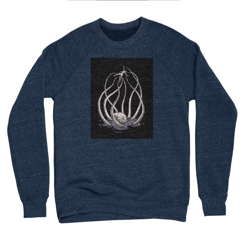 Tentacle Peril Men's Sponge Fleece Sweatshirt by Natalie McKean