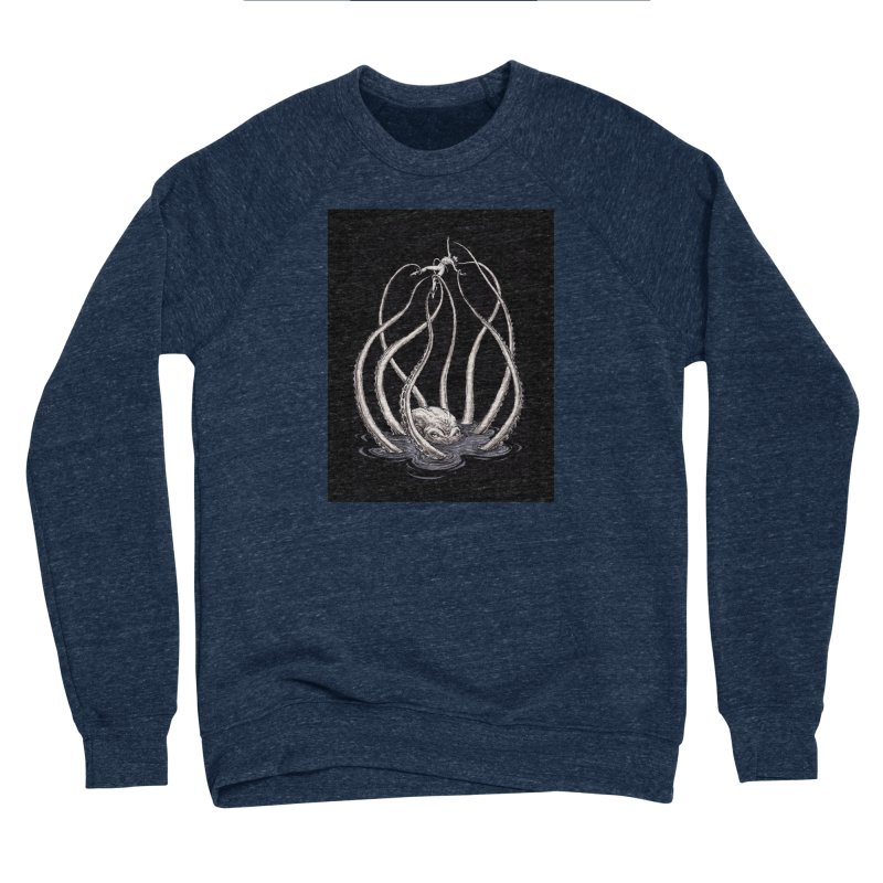 Tentacle Peril Women's Sponge Fleece Sweatshirt by Natalie McKean
