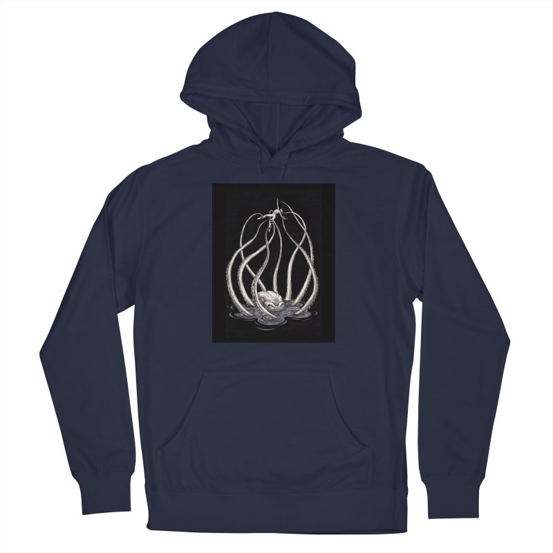 Tentacle Peril Men's Pullover Hoody by Natalie McKean