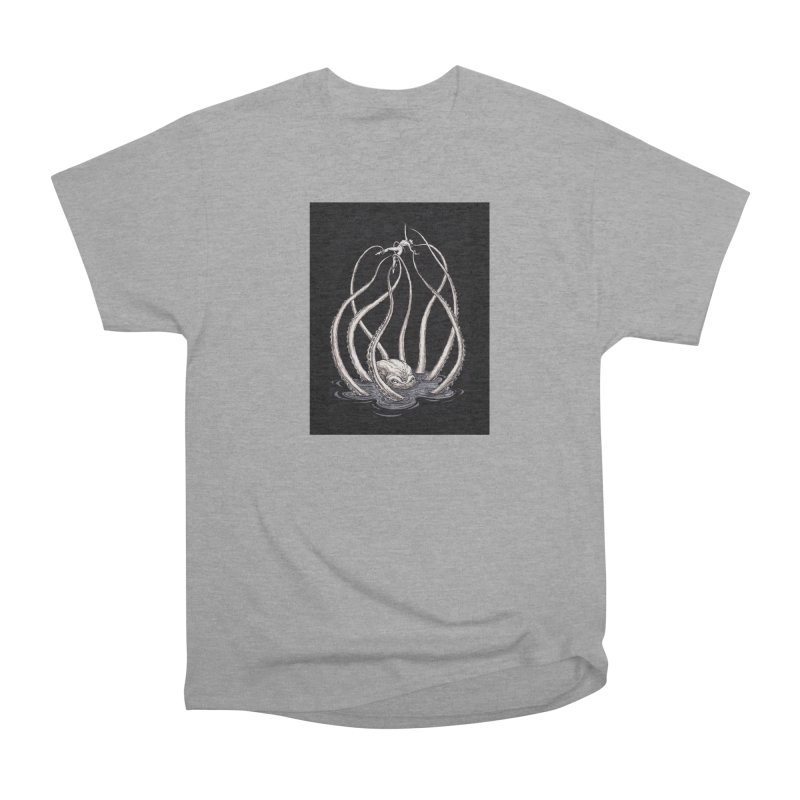 Tentacle Peril Men's Heavyweight T-Shirt by Natalie McKean