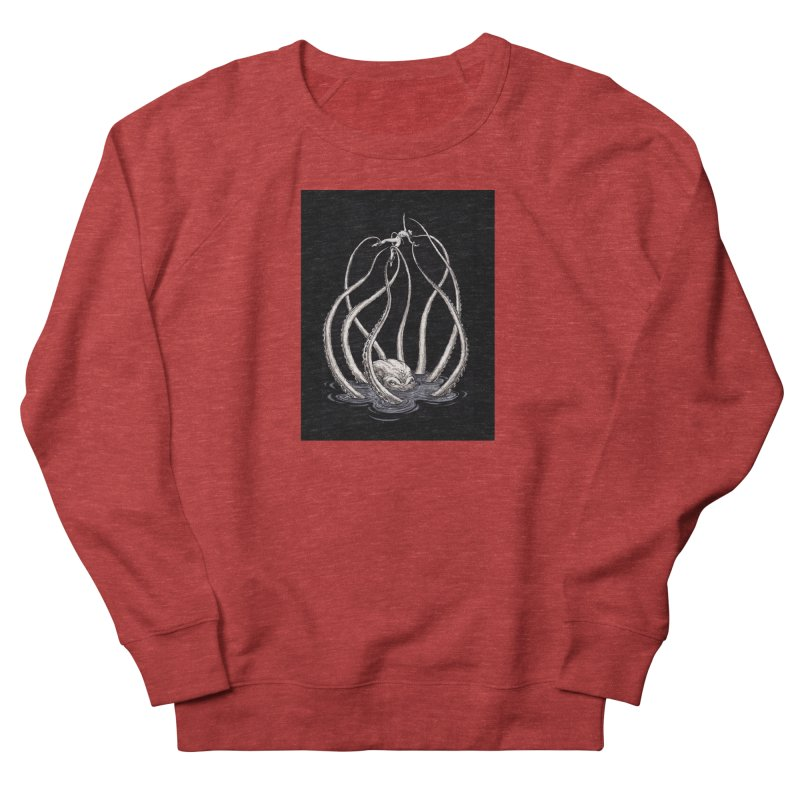 Tentacle Peril Women's French Terry Sweatshirt by Natalie McKean