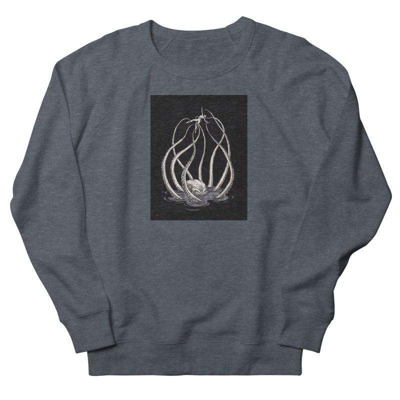 Tentacle Peril Men's French Terry Sweatshirt by Natalie McKean