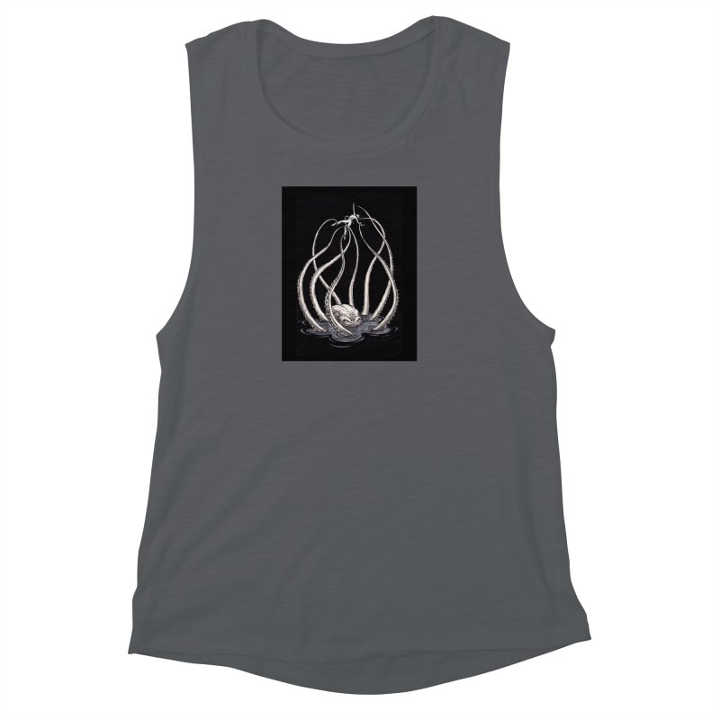 Tentacle Peril Women's Muscle Tank by Natalie McKean