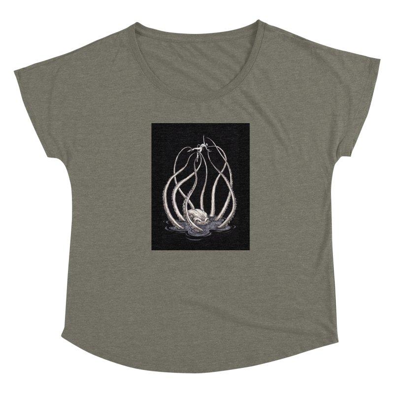 Tentacle Peril Women's Scoop Neck by Natalie McKean