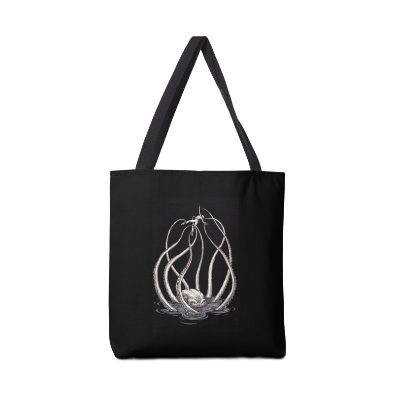 Tentacle Peril Accessories Tote Bag Bag by Natalie McKean