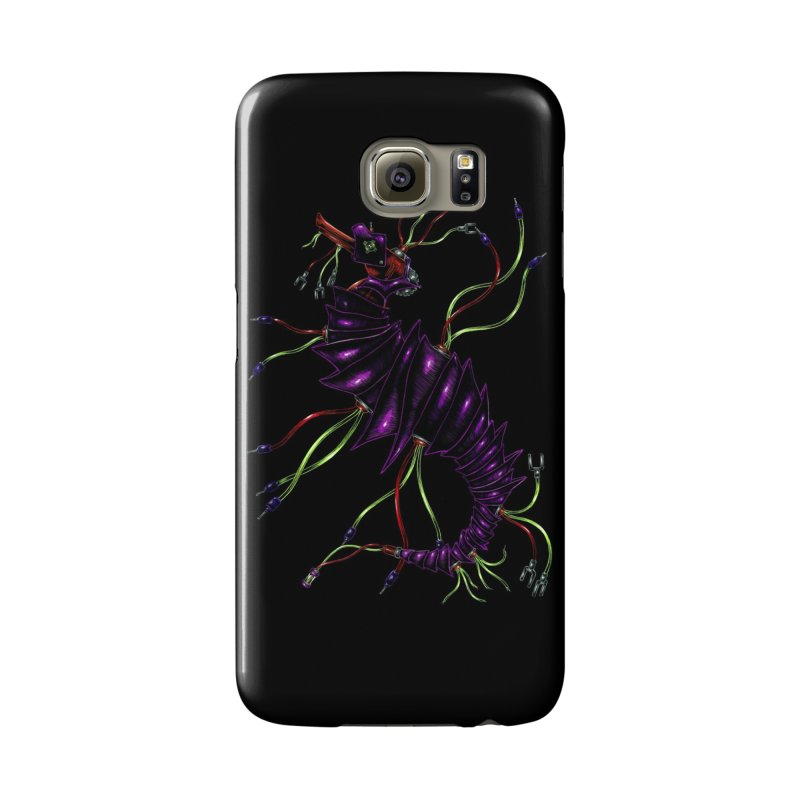 Wirey Sea Dragon Accessories Phone Case by Natalie McKean