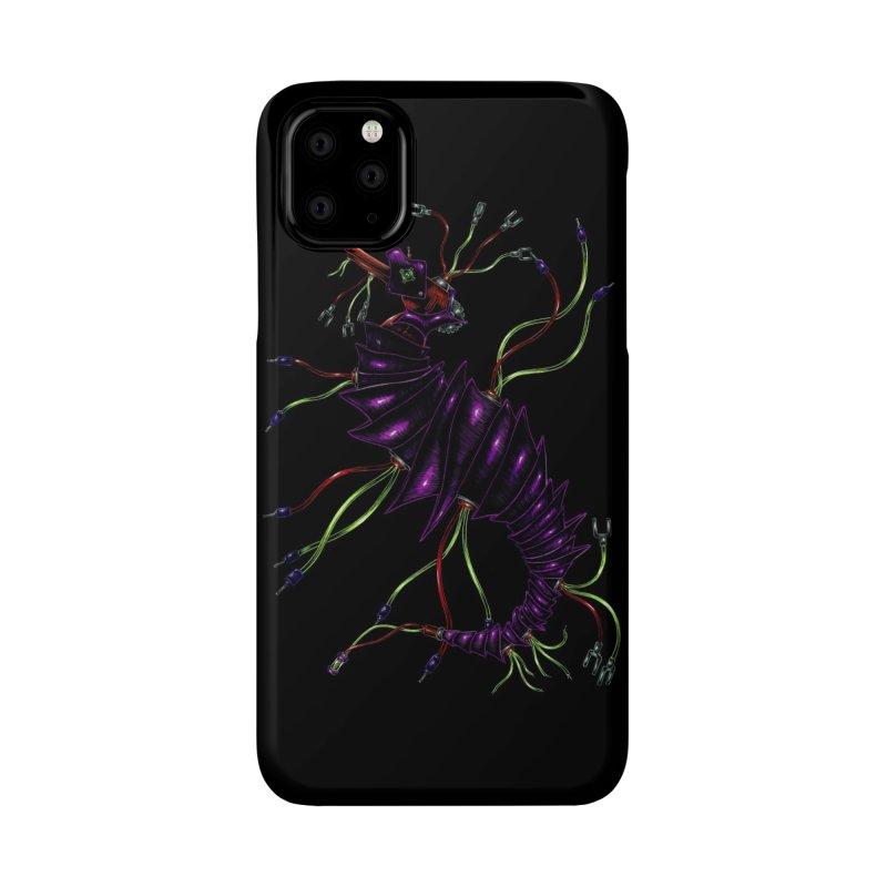 Wirey Sea Dragon Accessories Phone Case by Natalie McKean