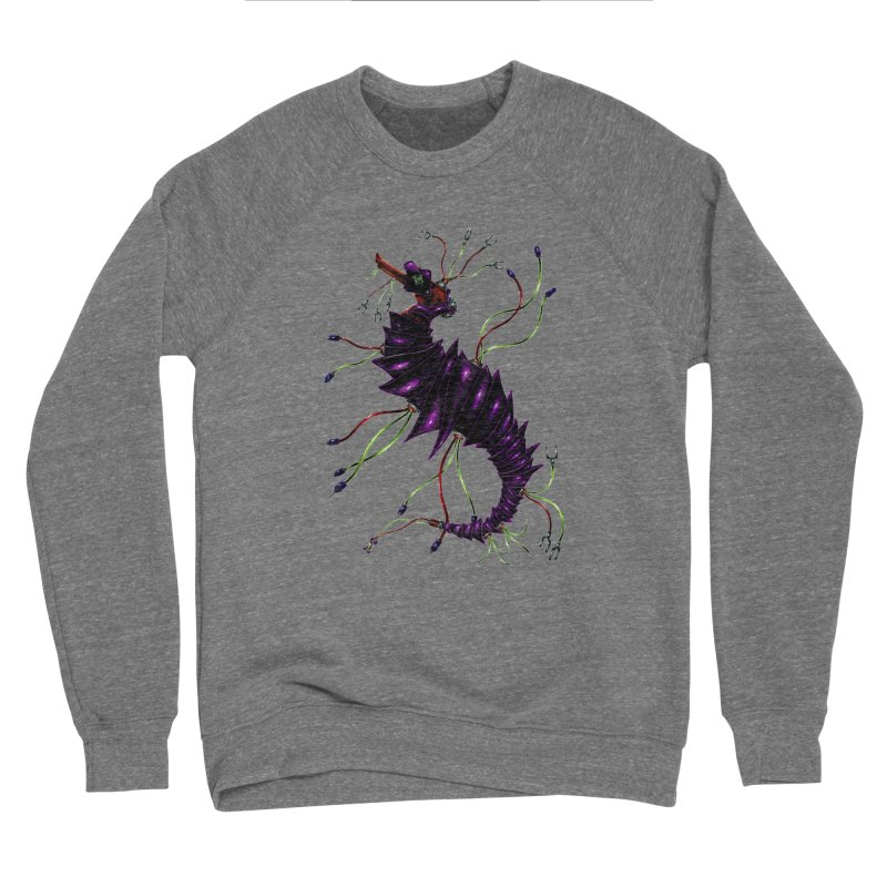 Wirey Sea Dragon Women's Sponge Fleece Sweatshirt by Natalie McKean