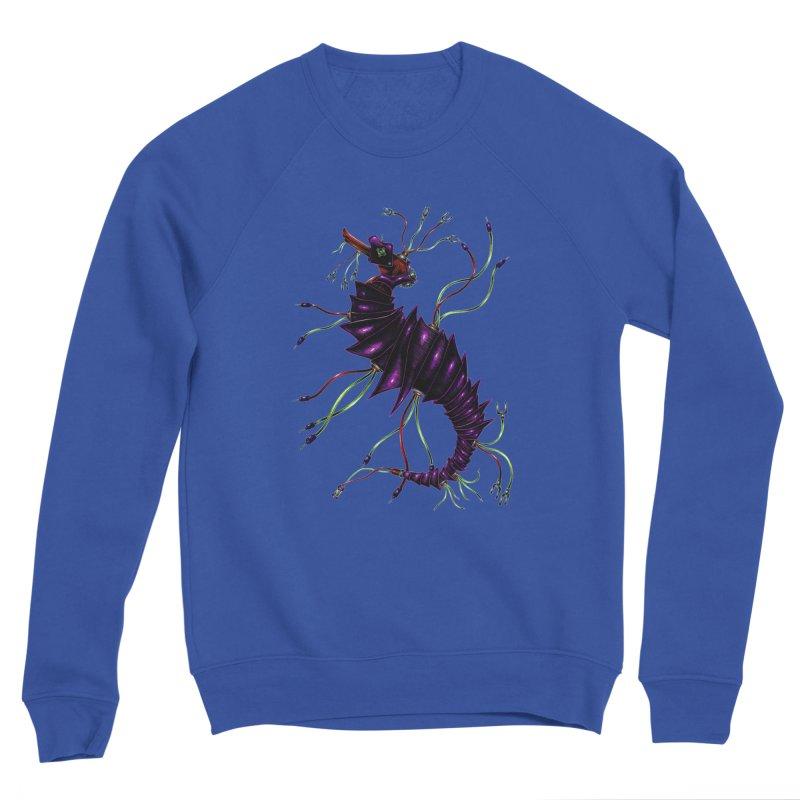 Wirey Sea Dragon Men's Sponge Fleece Sweatshirt by Natalie McKean