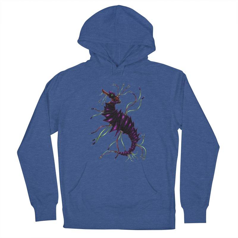 Wirey Sea Dragon Men's Pullover Hoody by Natalie McKean