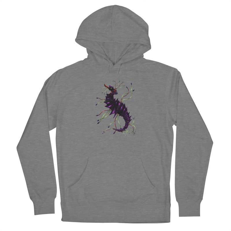 Wirey Sea Dragon Women's Pullover Hoody by Natalie McKean