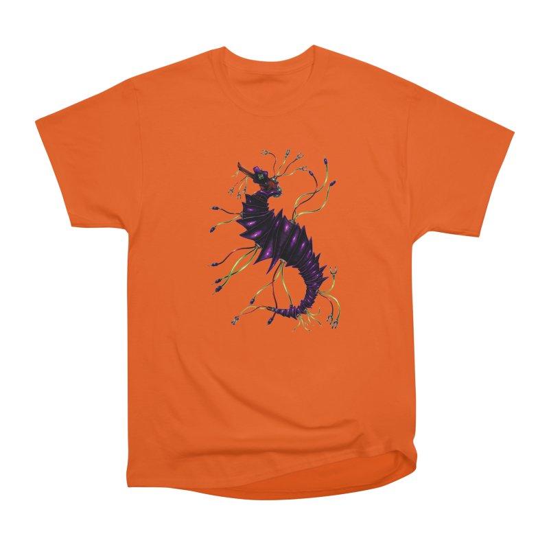 Wirey Sea Dragon Men's T-Shirt by Natalie McKean