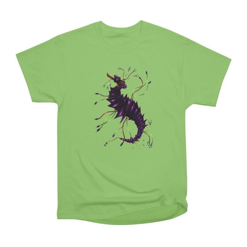 Wirey Sea Dragon Women's Heavyweight Unisex T-Shirt by Natalie McKean