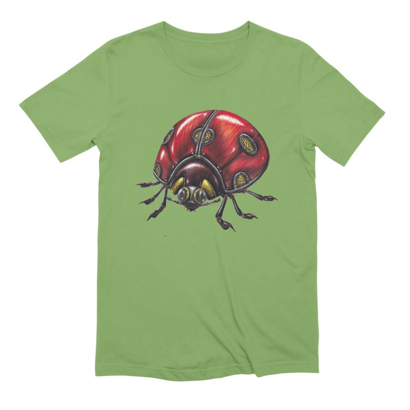 Ladybug Men's Extra Soft T-Shirt by Natalie McKean