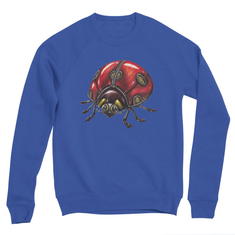 Ladybug Men's Sweatshirt by Natalie McKean