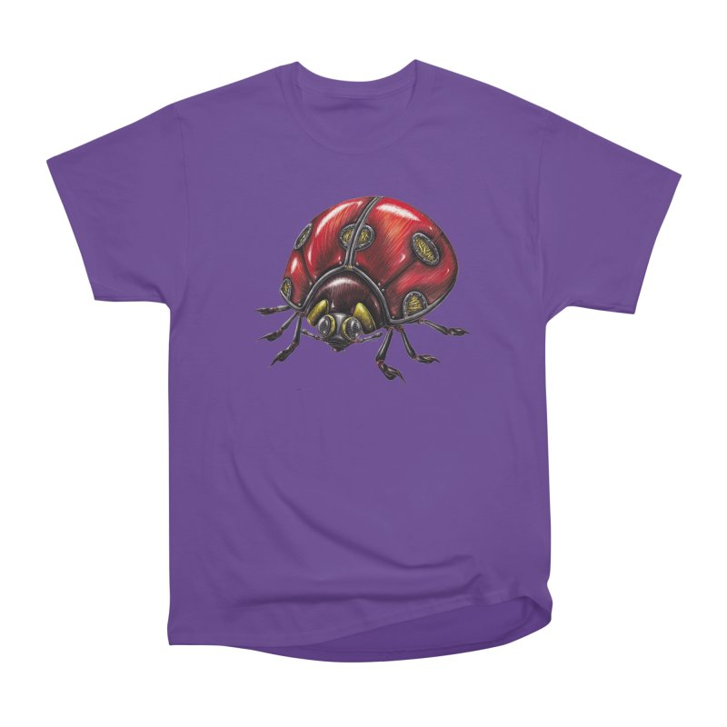 Ladybug Women's Heavyweight Unisex T-Shirt by Natalie McKean