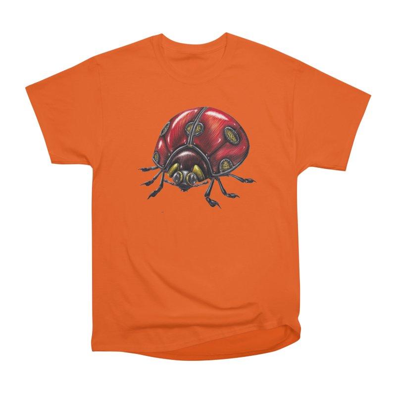 Ladybug Women's T-Shirt by Natalie McKean
